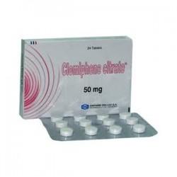 Clomiphene citraat Anfarm Hellas 24 tabbladen [50mg/tab]