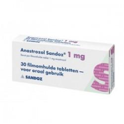 Anastrozol Sandoz 28 tabbladen [1mg/tab]