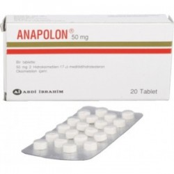 Anapolon Abdi Ibrahim 20 Tabletten [50 mg / Tablette]