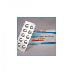 Tamofar tamoxifène comprimés BP 30 onglets [20mg/tab]