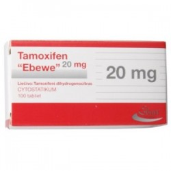 Tamoxifen Ebewe 100 faner [20mg/fane]
