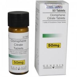 Genèse de Citrate de clomifène