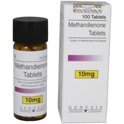 Methandienone-10mg tabletta Genesis