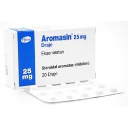 Aromasin 25mg tabletas (Exemestane) Pfizer TR 30 comprimidos