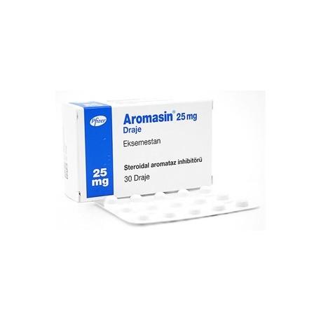 Aromasin 25mg tabletten (Exemestane) Pfizer TR 30 tabletten