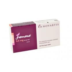 Femara (letrozol) Novartis 30 tabletas (2.5 mg/tab)