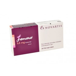 Femara (letrozol) Novartis 30 tabletten (2,5 mg/tabblad)