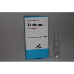 Testonon (Sustanon) amp de 1ml / 250mg de Zafa, Pakistán.
