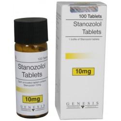 Sztanozolol tabletta Genesis [10mg/tab]