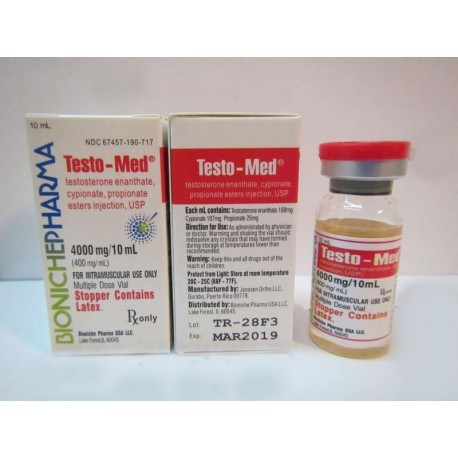 Testo-Med Bioniche Pharmacy (Testosteron Mix) 10 ml (400 mg / ml)