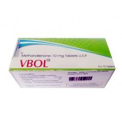 VBol Shree Venkatesh (Dianabol, Methandienon) 50 Tabletten (10 mg / Tab)