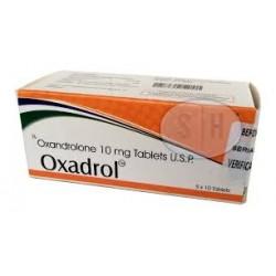 Oxadrol Shree Venkatesh (Oxandrolon, Oxandrolon) 50tabs (10 mg / tabblad)