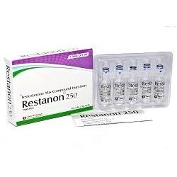 Restanon 250 Shree Venkatesh (injection de composé de mélange de testostérone)