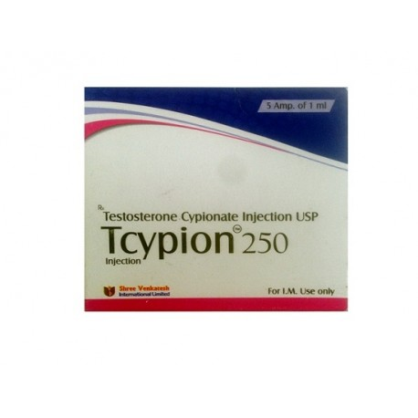 Tcypion 250 Shree Venkatesh (Testosteron Cypionate Injection USP)