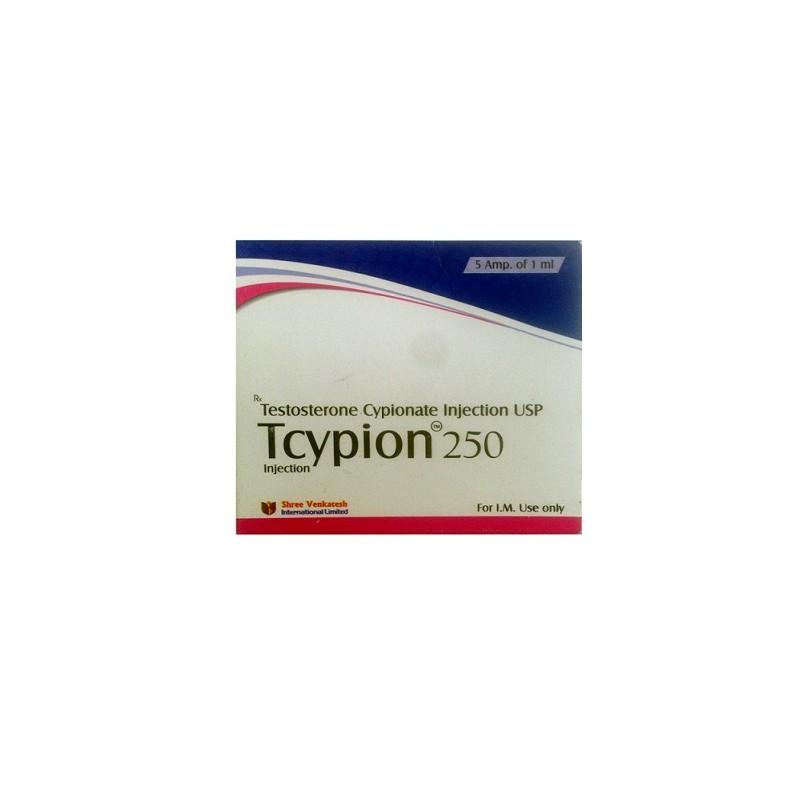 Tcypion 250 Shree Venkatesh (injection de cypionate de testostérone USP) - Acheter des stéroïdes