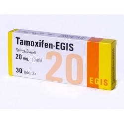 Tamoxifen (Nolvadex) EGIS 30tabs (20 mg / välilehti)
