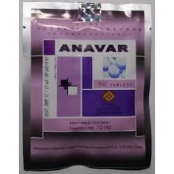 Anavar Hubei 10mg Oxandrolona 50 tabs