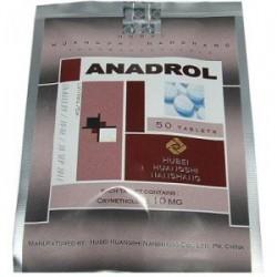 Anadrol Hubei 10mg (oxymentholone) 50 lapok