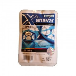 Xanavar Biosira (Anavar, Oxandrolone) 100 tabletter (10 mg / tab)