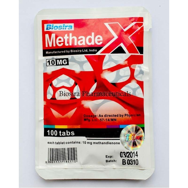 Methadex Biosira (Methandienone, Dianabol) 100tabs (10mg