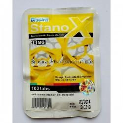 Stanox Biosira (Stanozolol, Winstrol) 100 tabletter (10 mg / tab)