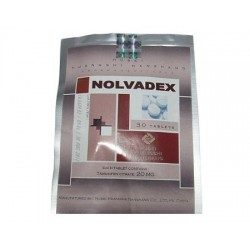 Nolvadex Hubei 10mg (tamoxifene citraat) 50 tabbladen