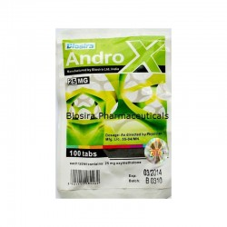 Androx Biosira (Anadrol, Oxymethlone) 100 Tabletten (25 mg / Tablette)