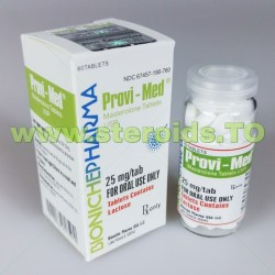 Provi-Med Bioniche Pharma (Proviron) 60 tabletter (25 mg / tab)