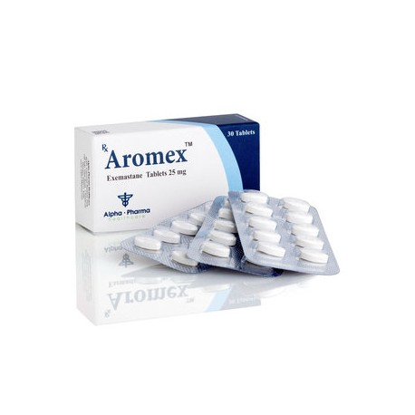 Aromex Alpha Pharma 25 mg (exemastaan) 30 tabletten