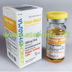 Trena-Med A Bioniche Pharma (acetato de trembolona) 10 ml (100 mg / ml)