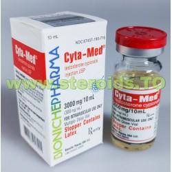 CYTA-Med Bioniche gyógyszertár (tesztoszteron Cypionate) 10 ml-es (300mg/ml)