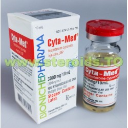 Cyta-Med Bioniche Pharmacy (Cypionate de testosterona) 10 ml (300 mg / ml)