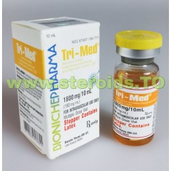 Tri-Med Bioniche Pharmacy (3 Trenbolones) 10 ml (180 mg / ml)