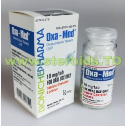 Oxa-Med Bioniche Pharmacy (Anavar, Oxandrolone) 60 Tabletten (10 mg / Tablette)