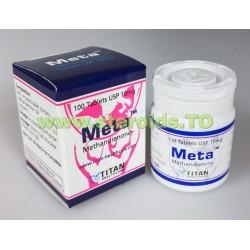 Meta Titan sundhedspleje (Dianabol, Methandienone) 100tabs (10mg/fane)