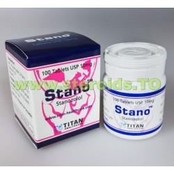 Stano Tablet Titan HealthCare (Stanozolol, Winstrol tabletták) 100tabs (10mg / tab)