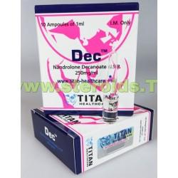 Dec Titan HealthCare (decanoato de nandrolona) 10 amps