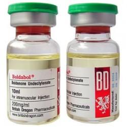 Boldabol 200 britiske Dragon 10ml flaske [200mg / 1ml]
