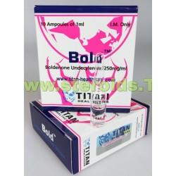 Bold (realce) Titan HealthCare (Boldenone Undecylenate)