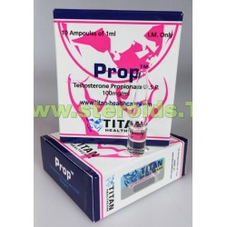 Prop Titan sundhedspleje (testosteron propionat)