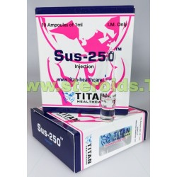 Sus-250 Titan HealthCare (Testosterone Mix, Sustanon 250)