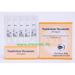 Nandrolon-Decanoat Primus Ray Labs 10X1ML [250 mg / ml]