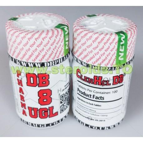Clenbuterol HCL DB Pharma 100 tablets (40mcg/tab)
