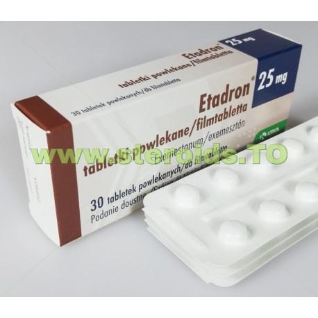 Etadron [Exemestane] 30 tabletter [25 mg / flik]