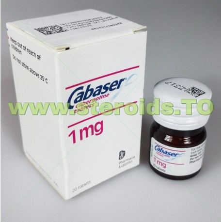 Cabaser Pharmacia & UpJohn 20 tablets [1mg/tab]