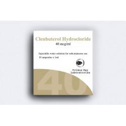 Clenbuterol Hydrochloride Injection Primus Ray 10X1ML [40mcg / ml]