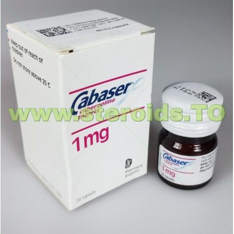 Cabaser - Cabergoline tablets 20tabs [1mg/tab]