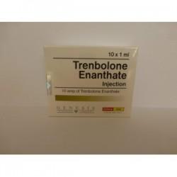 Frasco de 10ml de trembolona enantato injeção Gênesis [200mg/1ml]