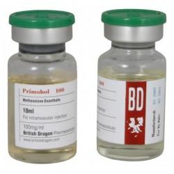 Primobol 100 britiske Dragon 10ml flaske [100mg / 1ml]