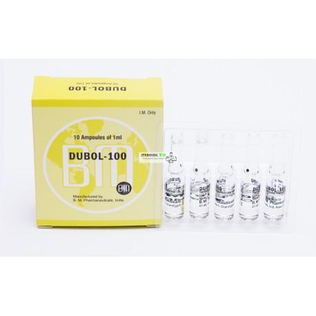 Dubol 100 BM Pharmaceuticals (nandrolon Phenylpropionate) 12ML (6X2ML hætteglas)